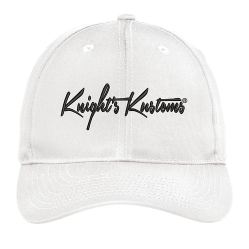 White semi-structured Hat