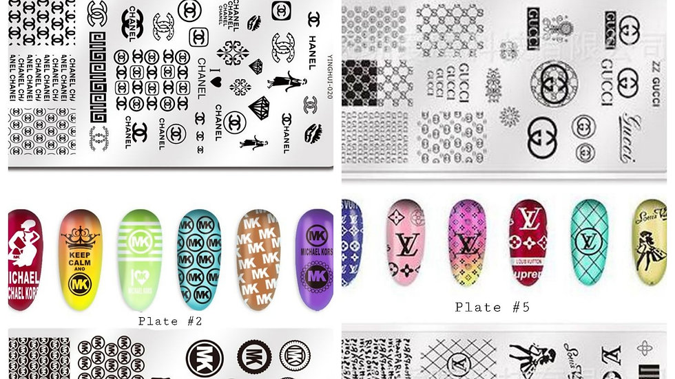 ◇Logo Nail Stamp Plate◇