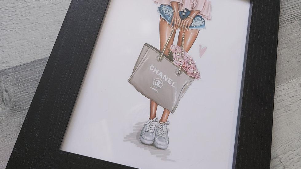 A4/A5 ◇Framed Fashion Print◇