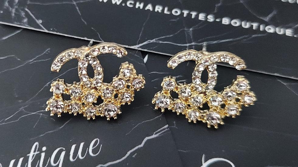 ◇Double C Earrings◇