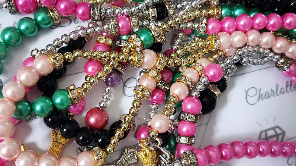 ◇Crystal Beads Rosary◇