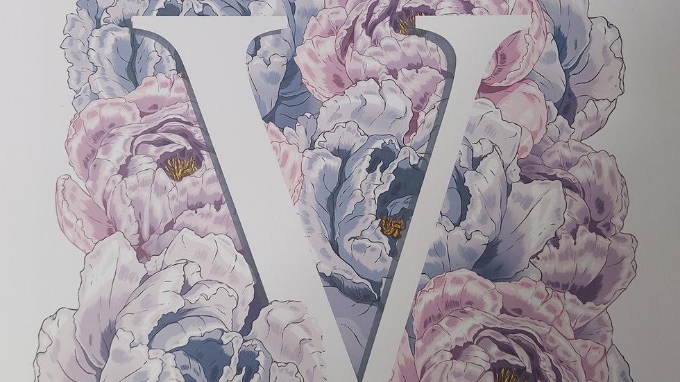 ◇Vogue Flowers Print◇