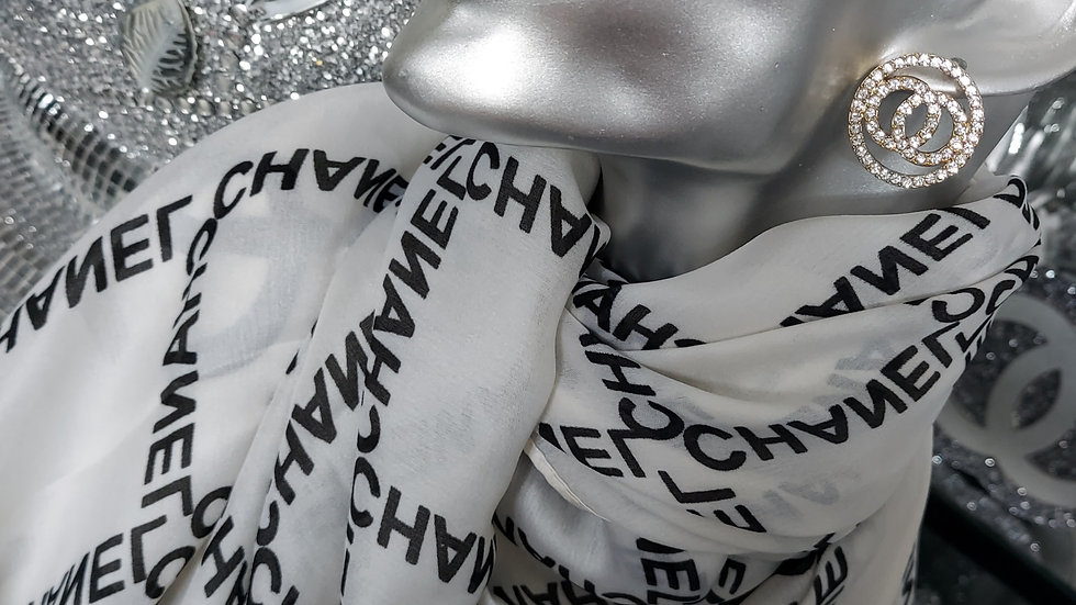 ◇Double C Silk scarf◇