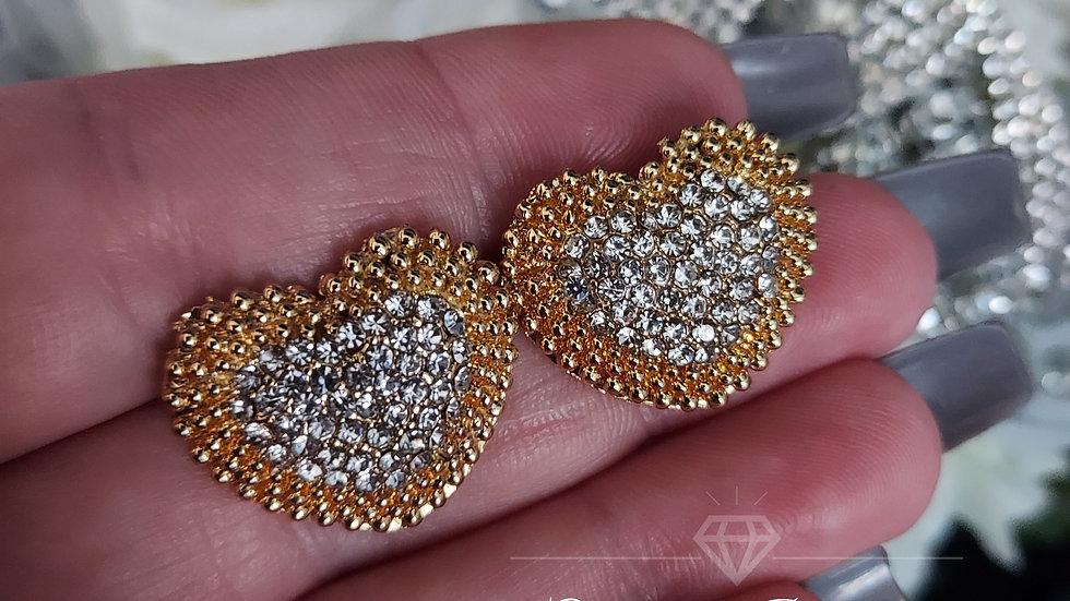 ◇Large Heart Earrings◇