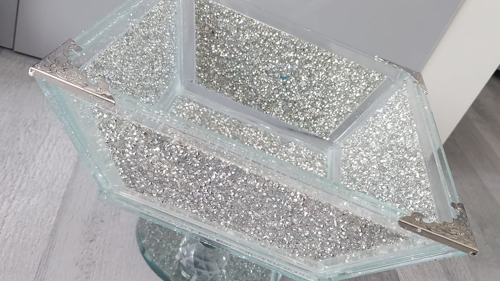 ◇Glass&Diamonds Fruit Bowl (Small version)◇