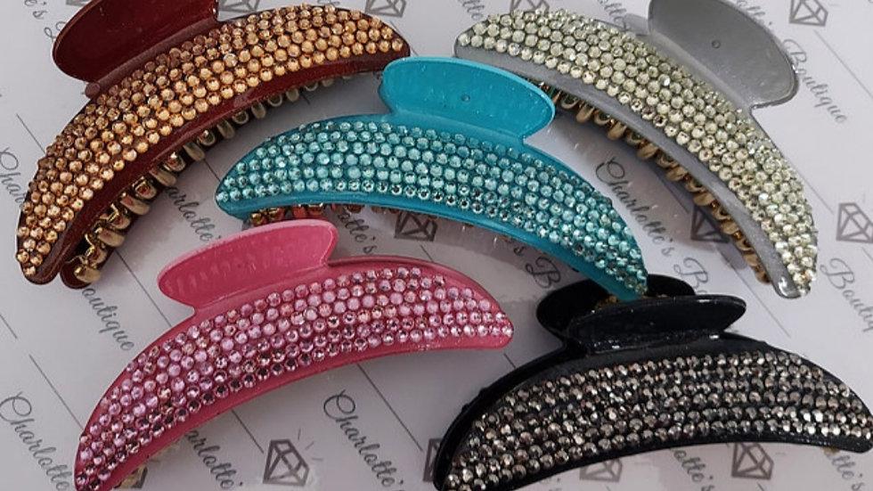 ◇Large Diamanté Claw Clip◇