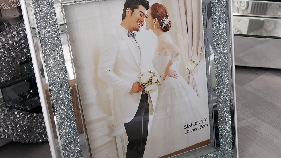 ◇Glass&Diamonds Photo Frame◇