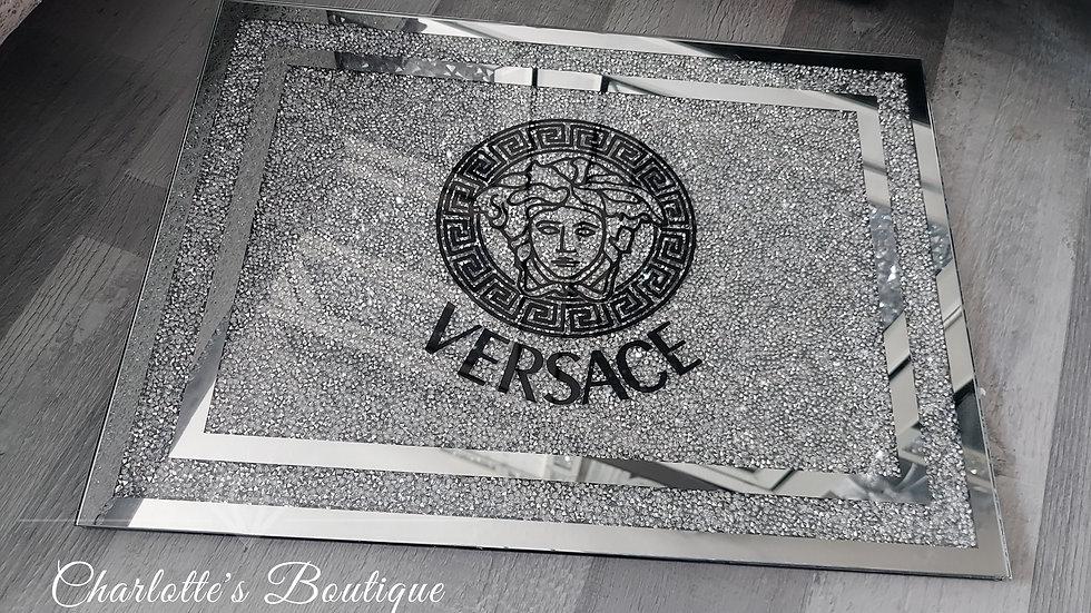 ◇Glass&Crystals Logo Chopping Board◇