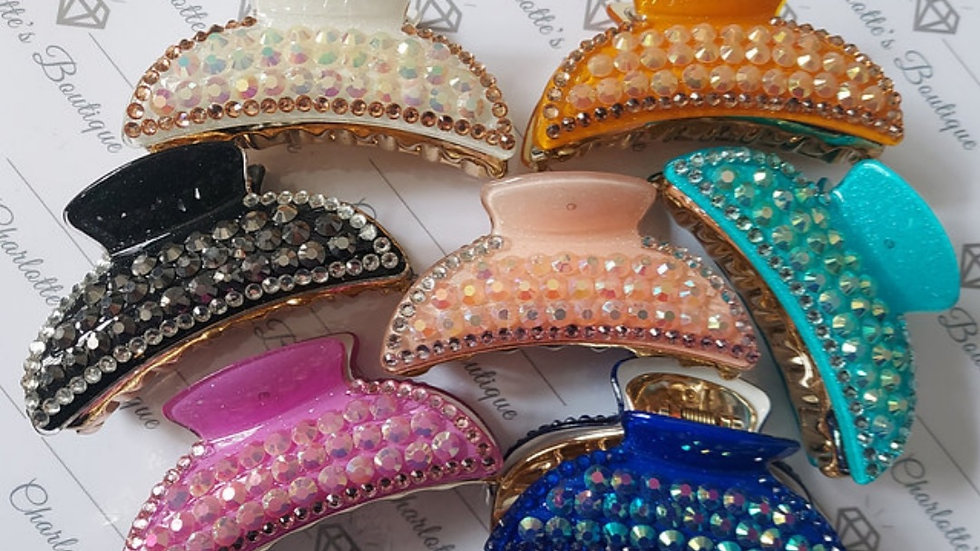 ◇Medium Diamanté Claw Clip◇