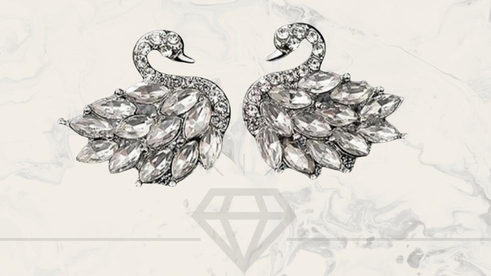 ◇Swan Earrings◇