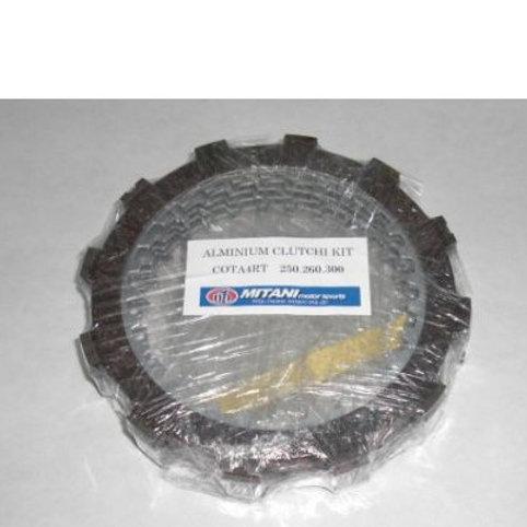 Mitani clutch pack - alluminium discs