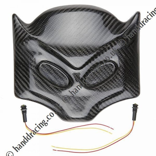 Carbon Batlight cover plus LED's