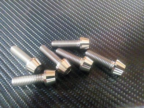 Titanium Triple clamp bolt kit