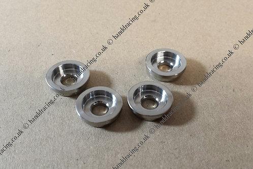 H&D Titanium brake disc collars