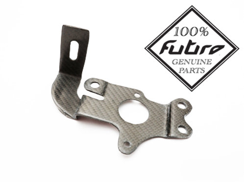 Carbon fibre support bracket