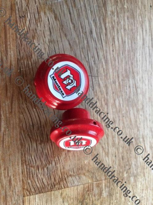 H&D 3 way breather caps / valve- Red M