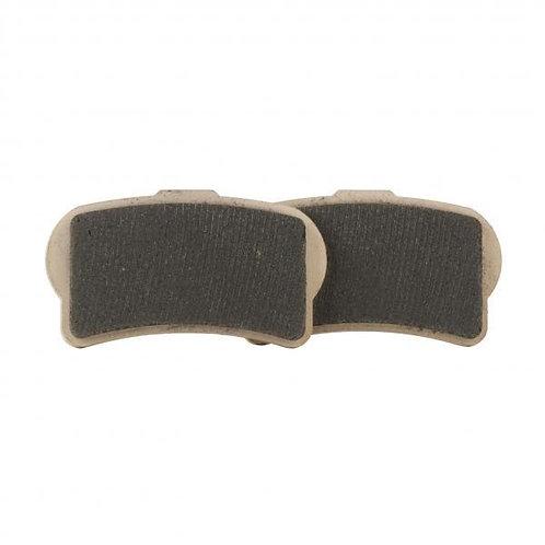 Race brake pads. 1 piece caliper.- clip