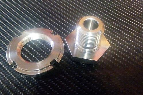 H&D Titanium locknut & top bolt