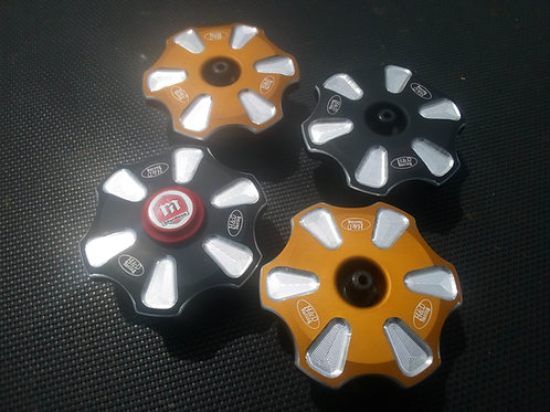 H&D 4RT BILLET GAS CAPS