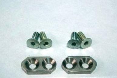 Titanium snail cam points chain adjusters