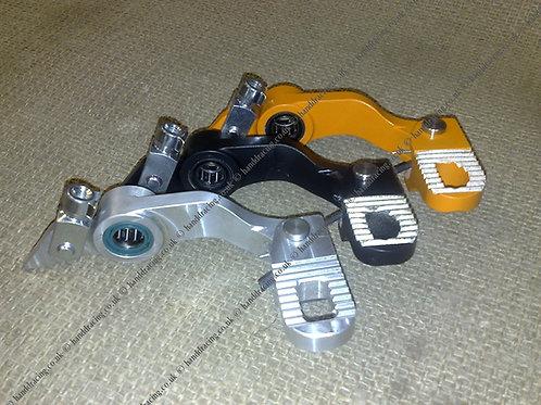 H&D Billet short rear brake pedal