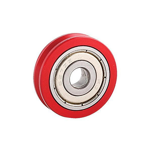 Billet throttle bearing pulley