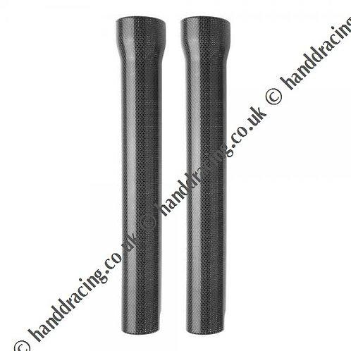 Showa Carbon Fibre fork leg covers