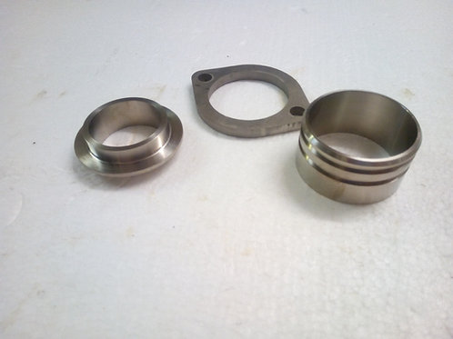 Montesa 315 titanium exhaust parts Ti-6al-4v