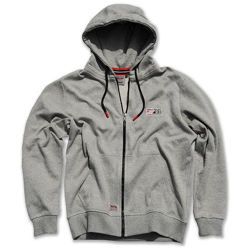 Heritage Zip Hood - Grey
