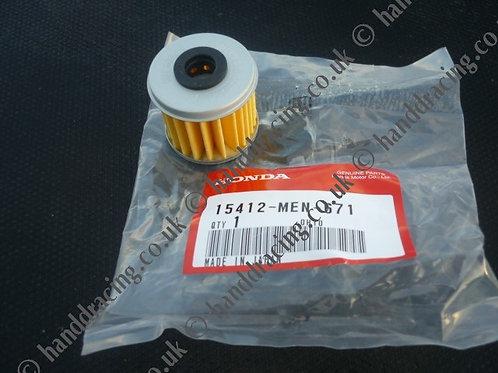 Genuine Honda montesa oil filter