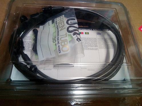 Carbon Brake hose Kit- complete.