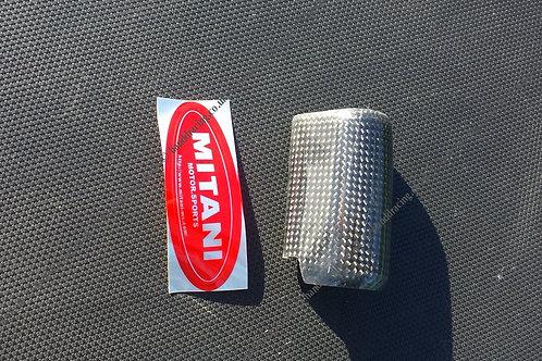 Mitani carbon coil cover