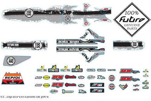 Future Repsol Chrome decal kit