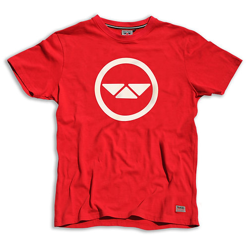 Impact Tee - Raw Red
