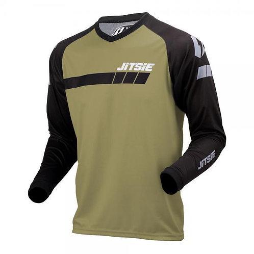 Jitsie L3 Triztan Riding Shirt- Khaki