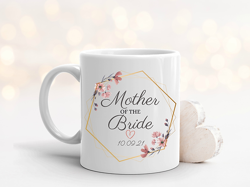 Wedding Of The Bride Thank You Gift Mug - More Variations Available