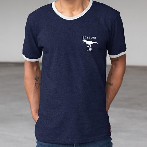 Roarsome Navy Mens T Shirt