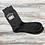 Thumbnail: Limited Edition Birthday Milestone Black Socks - More Variations Availabl