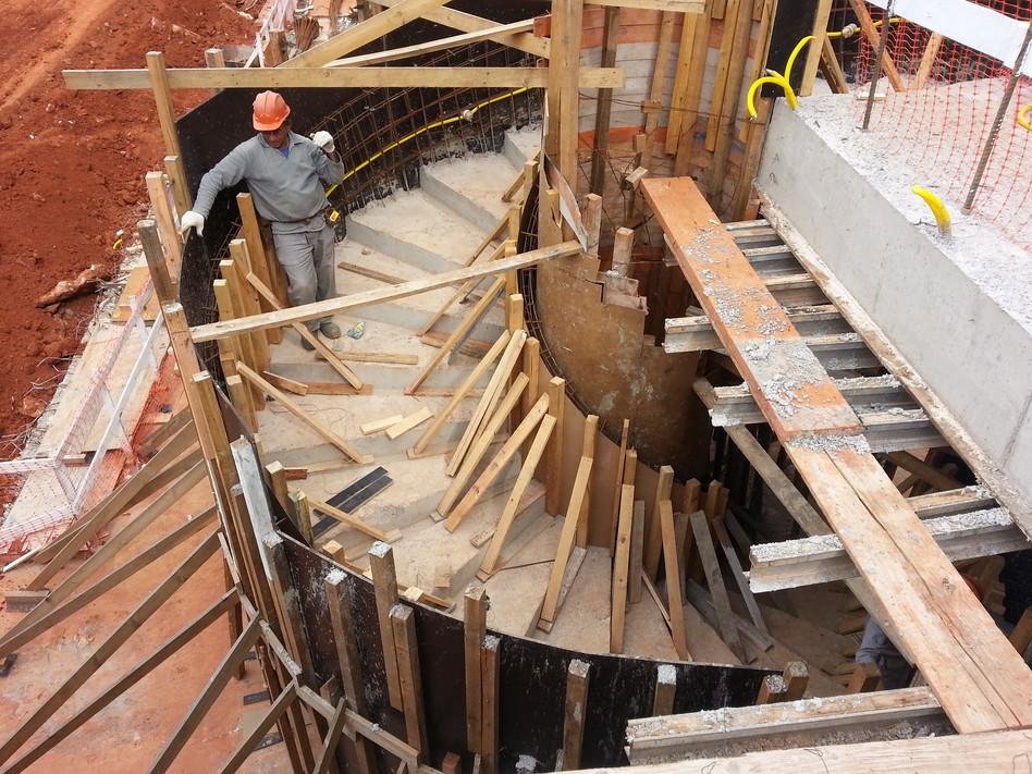 Escada Helicoidal