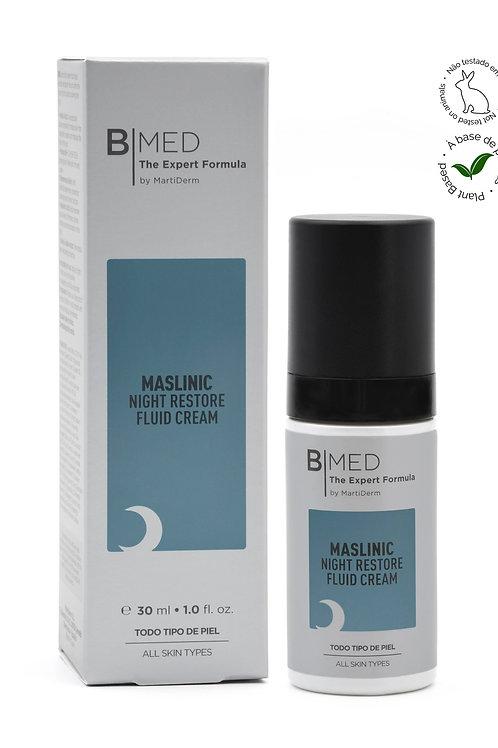 B Med Maslinic Restore Night Fluid Cream  30 ml