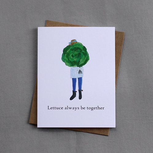 Lettuce always be together