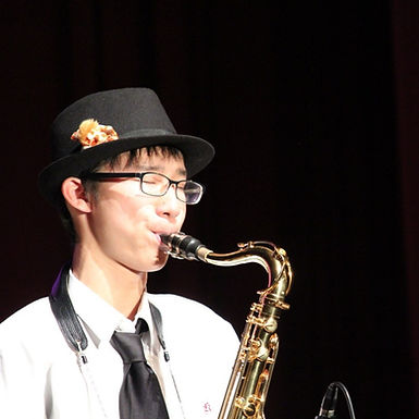 中根 佑紀(なかね ゆうき)Reg. 4th Tenor Sax.
