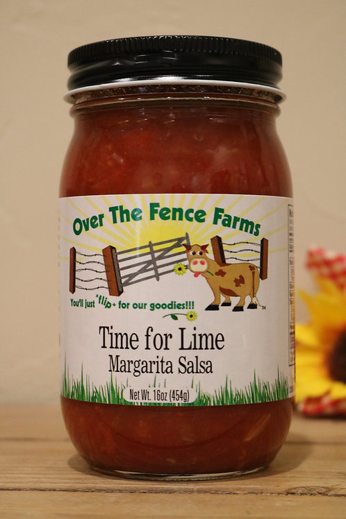 Time for Lime Margarita Salsa - Over the Fence Farms
