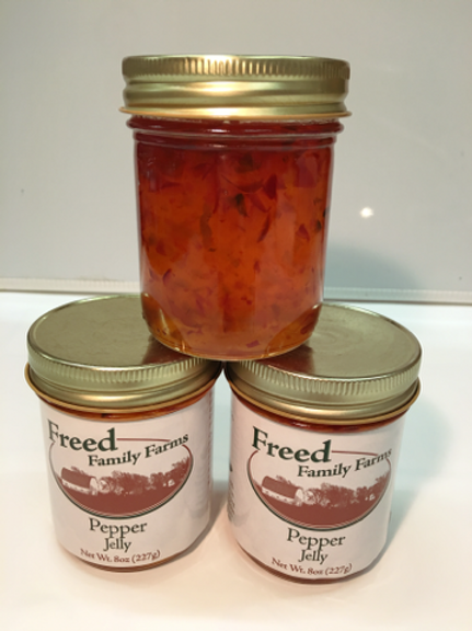 Pepper Jelly-Freed Family Farms