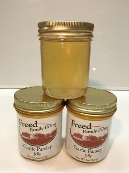 Garlic Parsley Jelly-Freed Family Farms