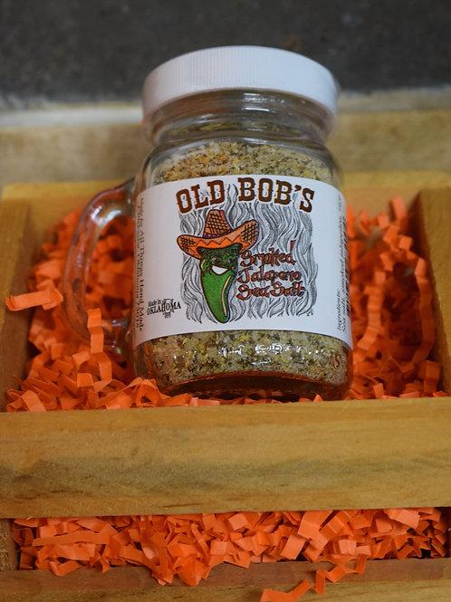 Old Bob's Smoked Jalapeño Sea Salt- All Things Handmade