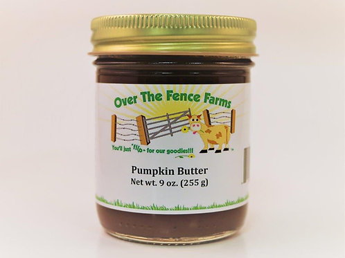 Over the Fence Farms- Pumpkin Butter