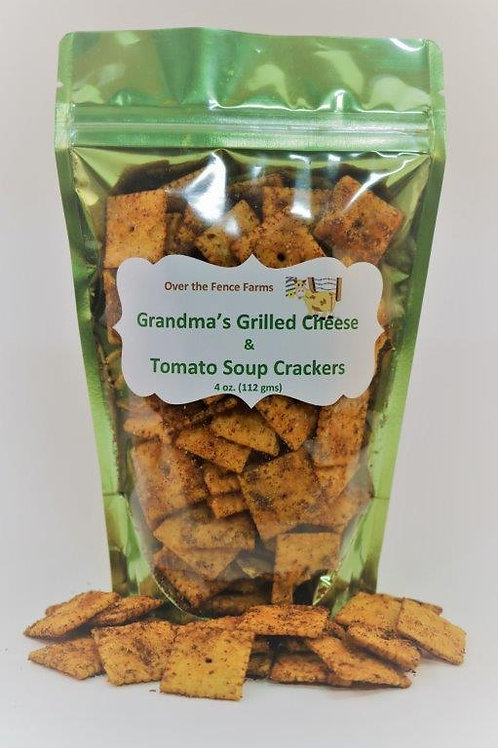 OTFF- Grandma's Grilled Cheese & Tomato Soup Crackers