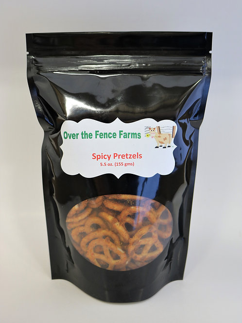 Spicy Pretzels-Over the Fence Farms