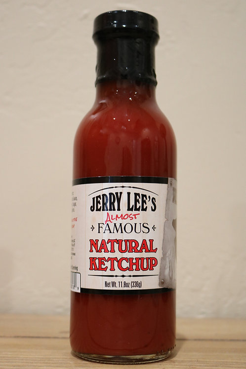 Jerry Lee's Almost Famous Natural Ketchup - Over the Fence Farms